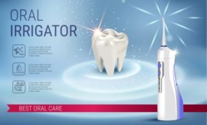Use of Oral Irrigator in Belmont, MA