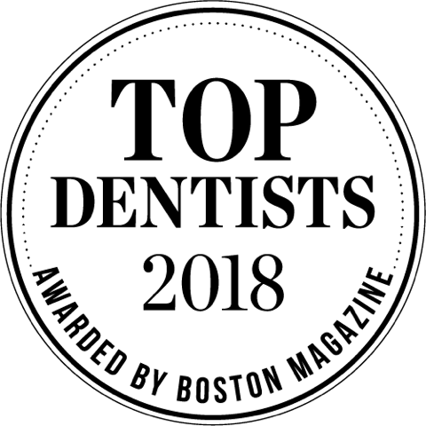 Top Dentists 2018 Award by Boston Magazine
